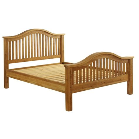 Vancouver Bed Frame Vancouver Oak Vxb005 Bed Frame King High End Homeware Thehut