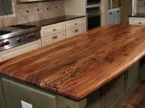 Wood Kitchen Countertops by Wood Countertop Wood Countertops Wood Island Tops