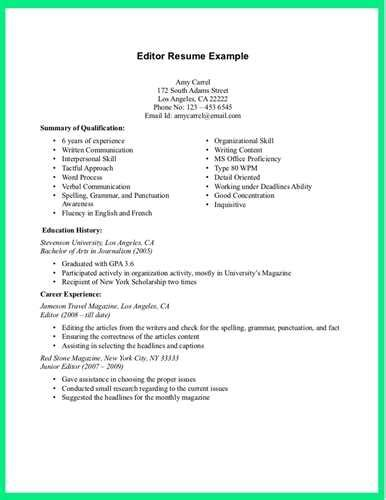 Resume Editing by We Offer The Following Resume Editing Services