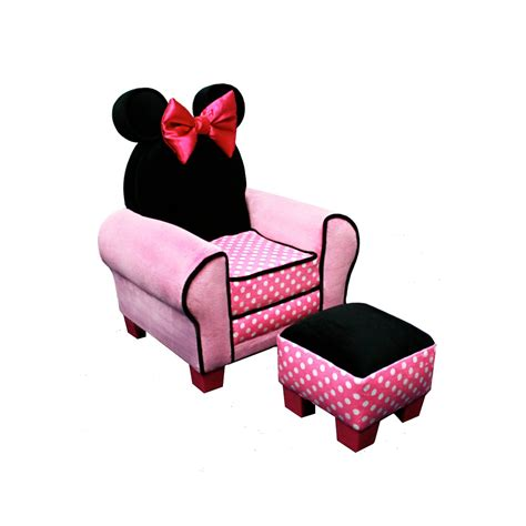 Minnie Mouse Recliner by Total Fab Toddler Chair And Ottoman Sets