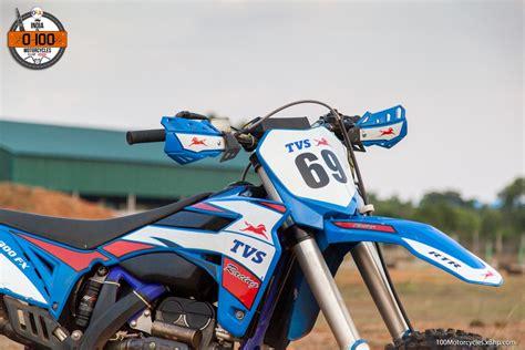 tvs motocross bikes bike 31 tvs rtr 300 fx the indigenous motocross bike
