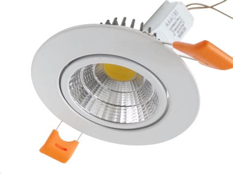 Fabricant Eclairage Led by Spot Encastrable Led Cob Rond Orientable 12w 80
