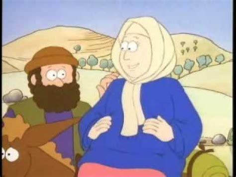 imagenes de la vida de jesus en caricatura el nacimiento de jesus parte 1 youtube