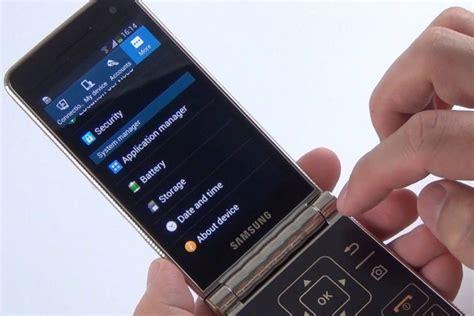 samsung galaxy folder  flip phones promotional images leaked sammobile sammobile