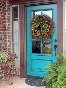 Paint Your Front Door Popular Colors To Paint An Entry Door Installing Decorating Windows Doors Diy