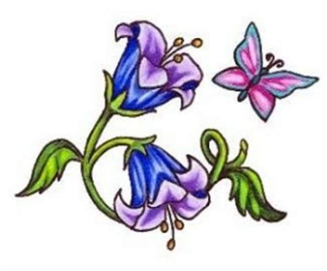 bluebell tattoo designs 14 best bluebell tattoos images on