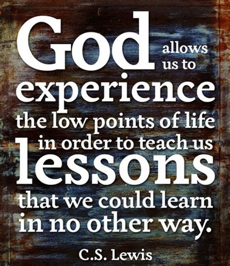 lessons from god for living a books quotes teaches us lessons quotesgram