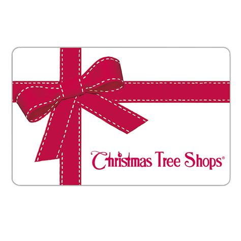 gift card 5 to 100 christmas tree shops andthat