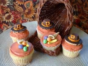 Pics photos thanksgiving cupcake