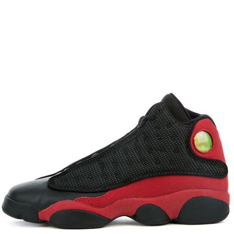 jordan retro 13 air jordan 13 retro bg black true red white top sellers