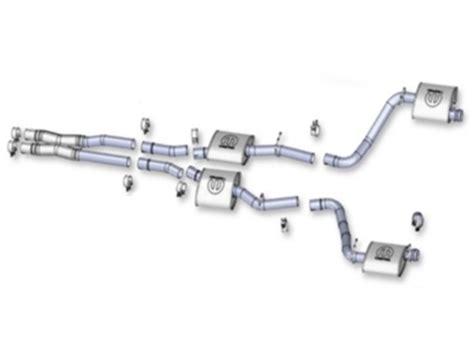mopar performance exhaust challenger challenger mopar performance cat back exhaust system
