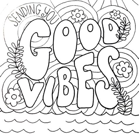 good vibes coloring book pages c smartypants july 2013