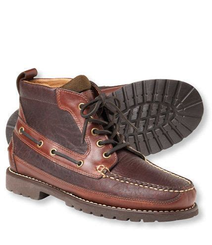 ll bean mens shoes and boots s allagash bison handsewns casual boots the o jays