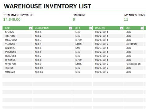 ms access warehouse management template free warehouse inventory excel spreadsheet sle