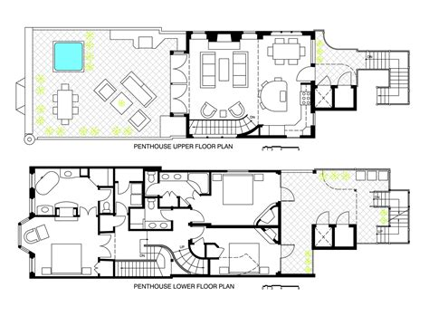 Small House Floorplan by Floor Plans Heart Of Telluride