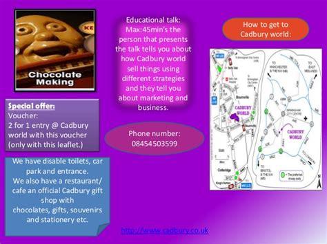 layout of a leaflet ks2 leaflet template cadbury world