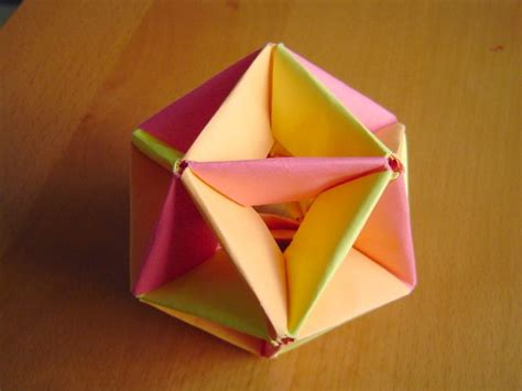 Modular Origami Balls - modular origami balls and polyhedra folded by micha蛯