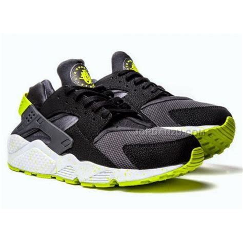 mens huarache sneakers nike air huarache mens running shoes black green sneakers