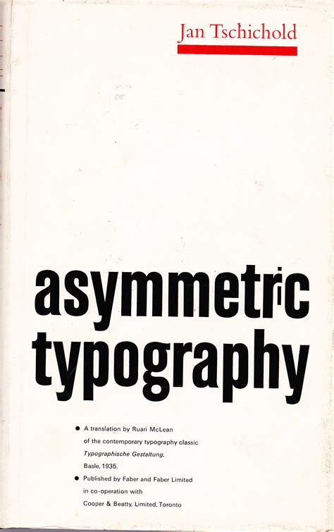 asymmetry a novel books jan tschichold all about lettering