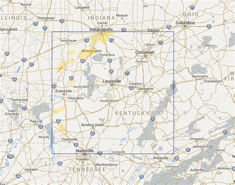 kentucky interactive map interactive hail maps available regions