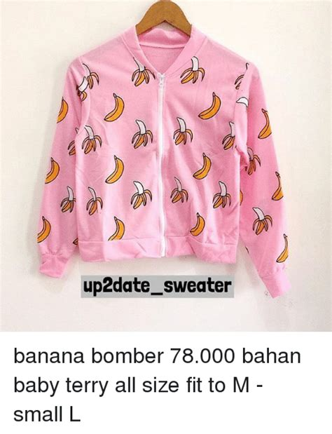 Sweater Bahan Babyterry Search Bananas And Memes On Me Me