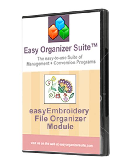 embroidery design organizer download easy organizer suite