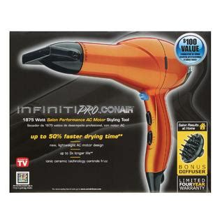 Conair Hair Dryer Orange conair 259 infiniti pro dryer