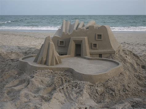 amazing geometric forms sculpted with sand my modern met new awe inspiring sand castles by calvin seibert my
