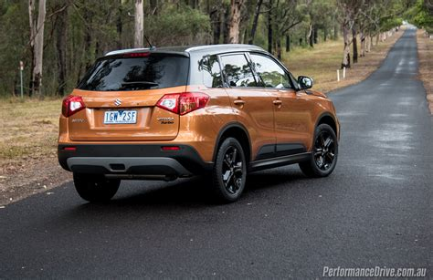 Suzuki Turbo 2016 Suzuki Vitara S Turbo Review Performancedrive