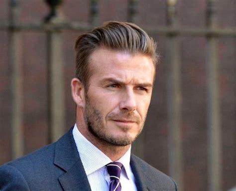 David Beckham New Hairstyle 2014