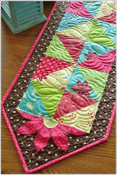 Patchwork Table Runner - patchwork table runners xcitefun net