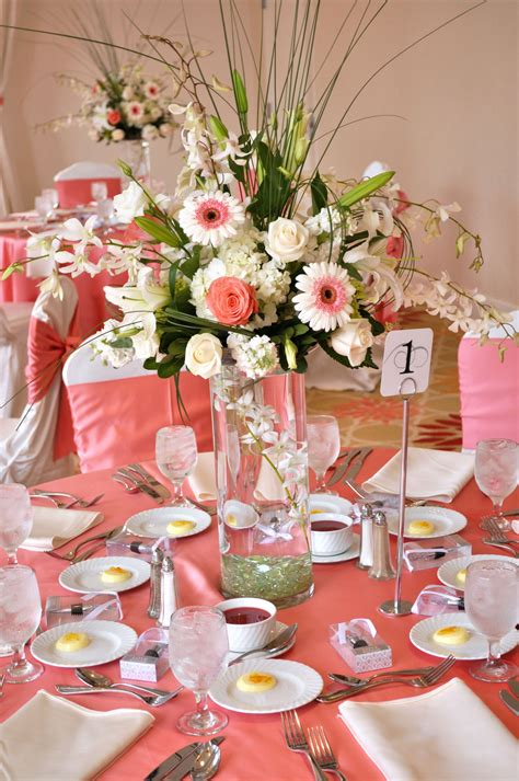 wedding centerpiece layout tall coral wedding centerpiece ideaswedwebtalks wedwebtalks