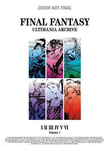 final fantasy ultimania archive volume 1 import it all