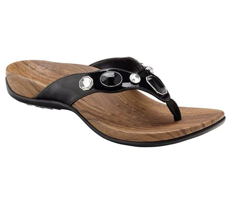 orthaheel sandals sale quot as is quot vionic w orthaheel orthotic sandals