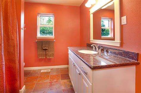 Salle De Bain Couleur Chaleureuse by Salle De Bain Orange 54 Id 233 Es Pour Inspirer Votre D 233 Co