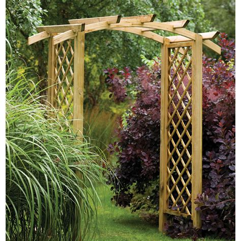 Garden Arch How To Make How To Build A Garden Arch Way The Garden Inspirations