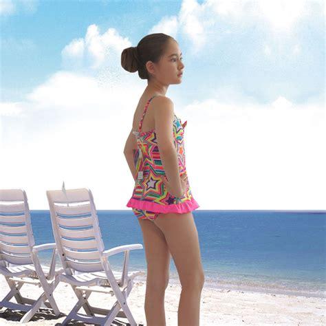 bathing suit little girl beach cute girls kids star swimsuit swimwear bikini beach wear