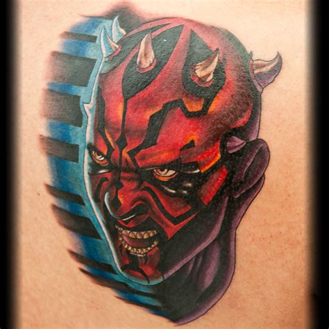 clone trooper tattoo give a artist a clone trooper helmet and what do