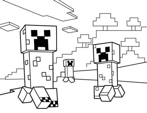 minecraft coloring pages popularmmos 18 best minecraft printable coloring pages images on