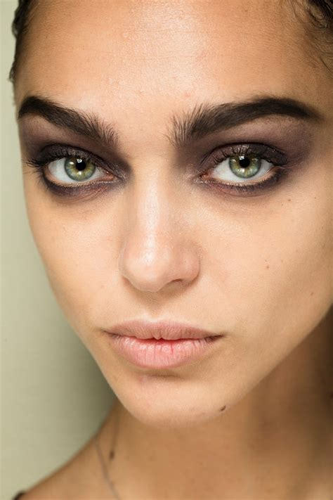 Fall Makeup Trends Gray Shadow by Slubanalytics Trend Analysis Fall Winter 2017 18