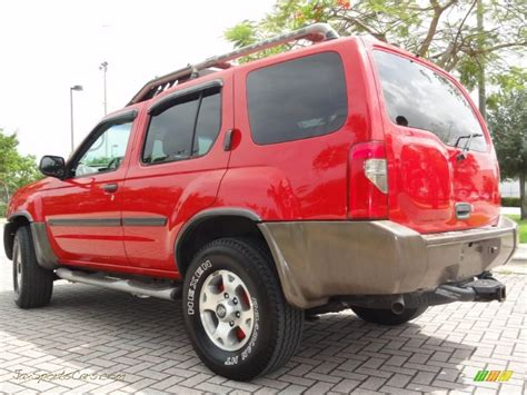2000 nissan xterra se v6 4x4 in aztec red photo 2 2000 nissan xterra se v6 4x4 in aztec red photo 3 528290 jax sports cars cars for sale in