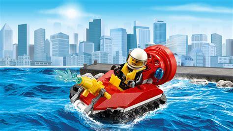 Lego City 60106 Starter Set lego 60106 city feuerwehr starter set bausteine