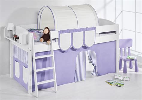 Curtains For Mid Sleeper Bed by Childrens Cabin Bed Midsleeper With Curtains 4105 By