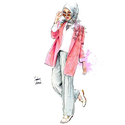 drawing pattern abaya 443 best hijab art images on pinterest muslim women