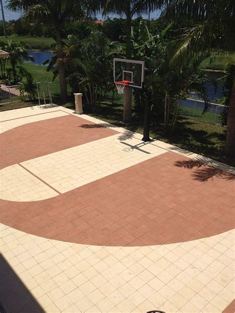 Kids Playing In Backyard Backyard Basketball Court Ideas To Help Your Family Become