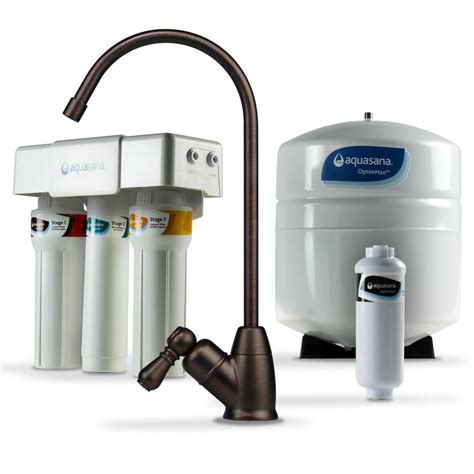 Aquasana Faucet Filter by Aquasana Optimh2o Osmosis Claryum Counter