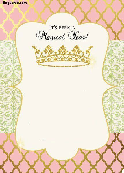 Free Princess Birthday Invitations Bagvania Free Printable Invitation Template El 5 Princess Princess Baby Shower Invitation Templates Free
