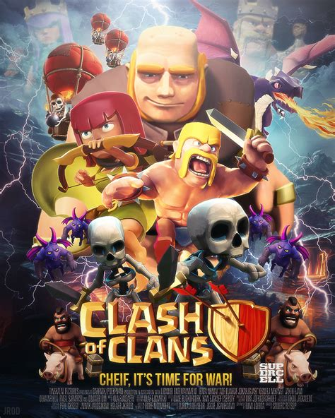 film layar lebar clash of clans clash of clans movie poster contest entry by jrod707 on