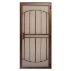 home depot security door unique home designs 36 in x 80 in arcada copper surface