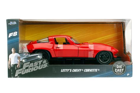 Fast And Furious 8 Lettys Chevy Corvette 1 24 Scale fast furious 8 letty s chevy corvette 1 24 scale